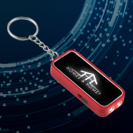 #173 LED Faceplate Key Chain