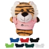 "4"" Mini Plush Buddies Tiger With Shirt"
