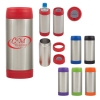 3-In-1 Stainless Steel Beverage Holder And Tumbler
