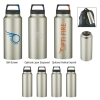 36 Oz. Rover Stainless Bottle With Carabiner Clip