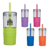 21 Oz. Jelly Straw Tumbler