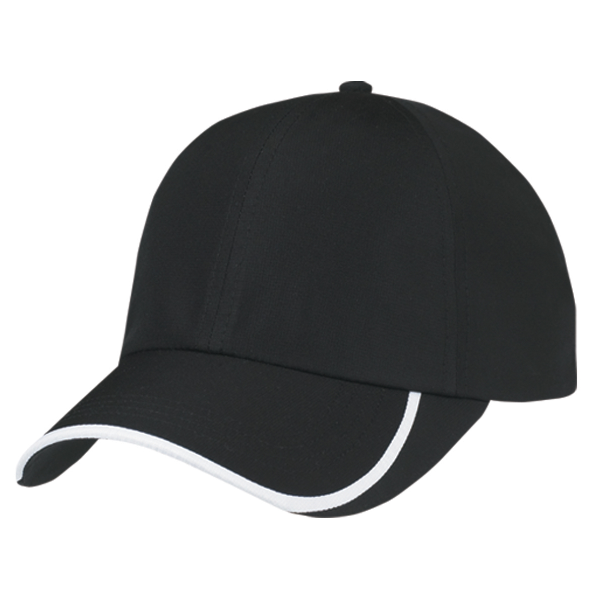 1086 Ih Blac And White : Hit dry curve ball cap
