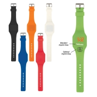 Square Unisex Touch-Activated Sports Watch