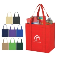 Non-Woven Avenue Shopper Tote Bag