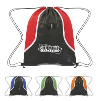 Non-Woven Clear Pocket Drawstring Sports Pack