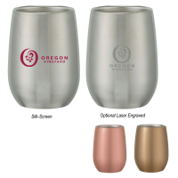 Stainless Steel Stemless Wine Glass
