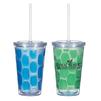 16 Oz. Double Wall Tumbler With Cooling Inner Wall