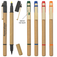Dual Function Eco-Inspired Pen/Highlighter
