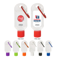 1.8 Oz. Hand Sanitizer With Carabiner