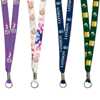 Full Color Imprint Smooth Dye Sublimation Lanyard - 36