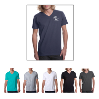 Next Level䋢 Premium Fitted Short-Sleeve V