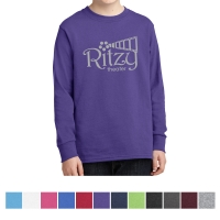 Port & Companyå¨ - Youth Long Sleeve Cotton T-Shirt