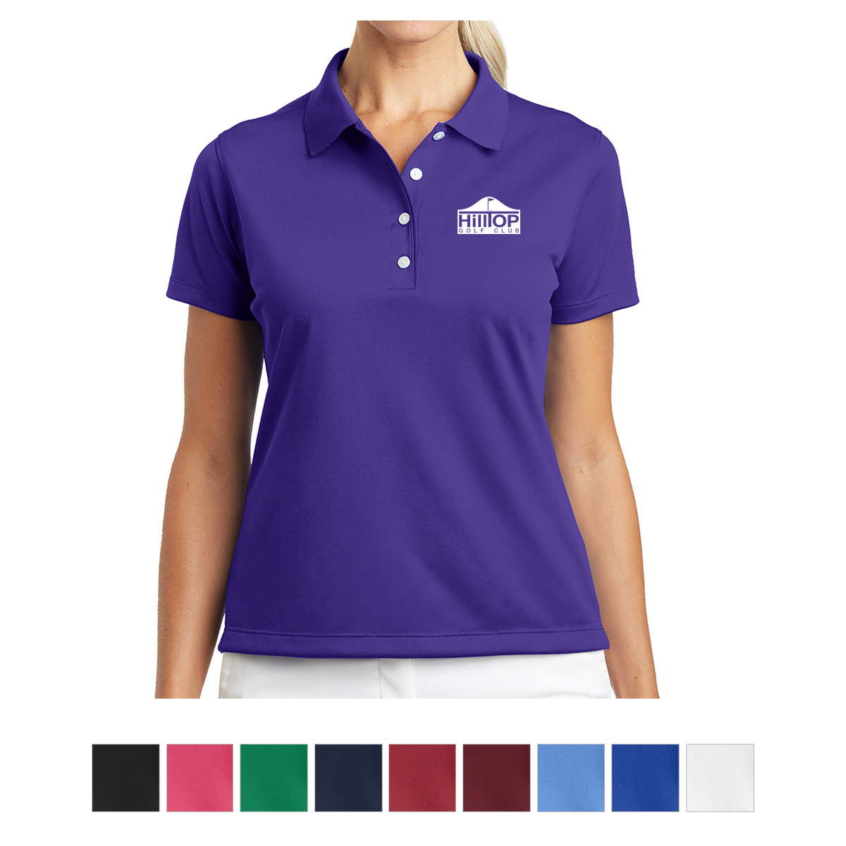 203697 Nike Ladies Tech Basic Dri Fit Polo Hit Promotional Products