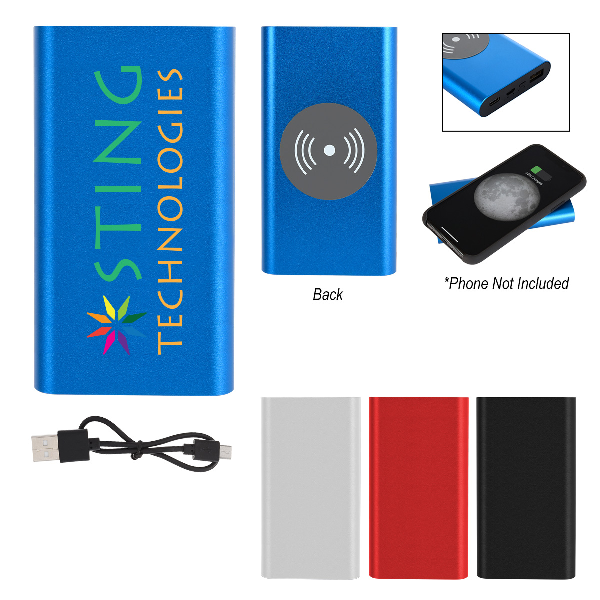 HIGH DENSITY WIRELESS CHARGER & POWER BANK