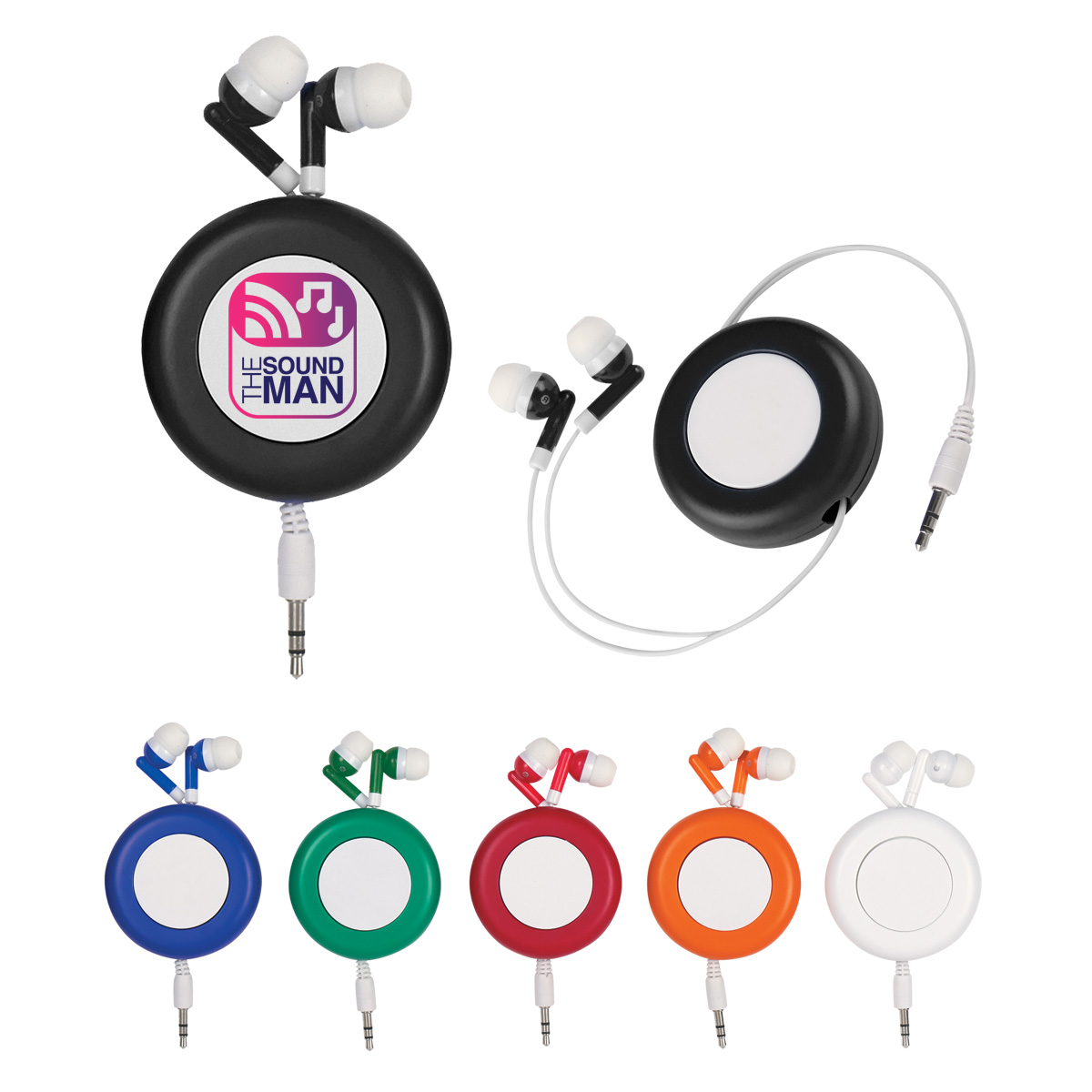 Earbuds retractable case - earbuds retractable