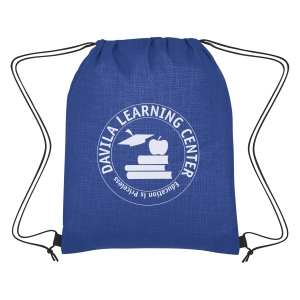 Crosshatch Non-Woven Drawstring Bag 6be2dd274800