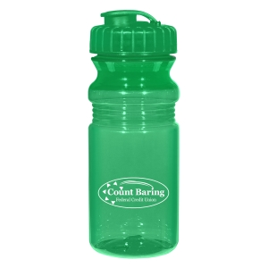 20 Oz. Poly-Clear™ Fitness Bottle With Super Sipper Lid 7d3206e73bed