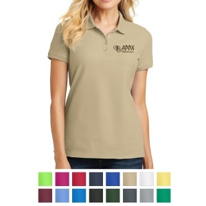 123a28bf Port Authority® Ladies Core Classic Pique Polo