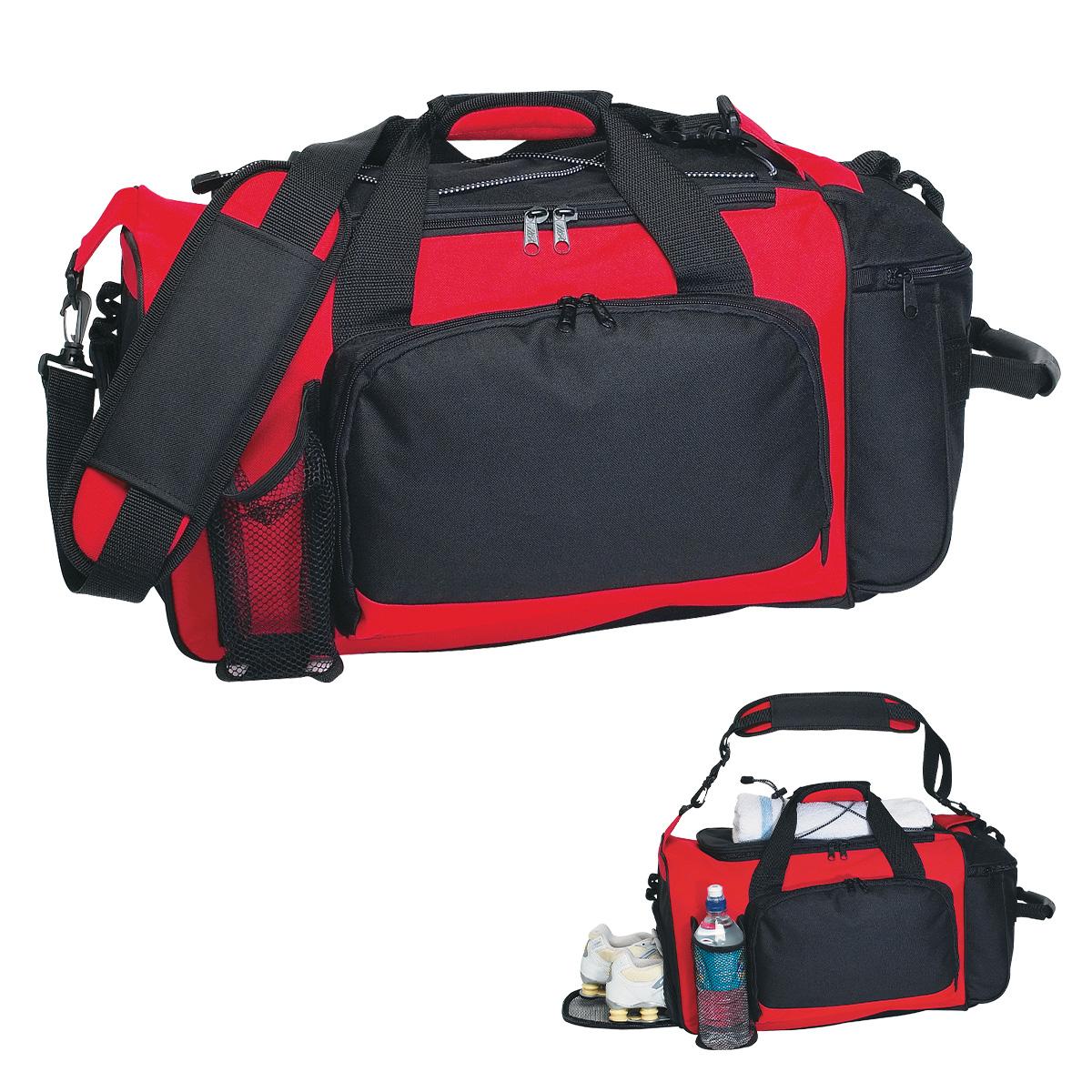 #3111 Deluxe Sports Duffel Bag