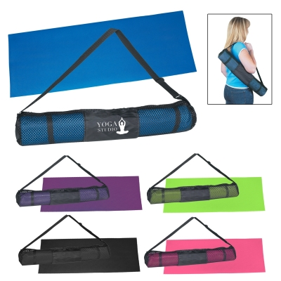 68da9ebad5094 6050 Yoga Mat And Carrying Case - Hit Promotional Products