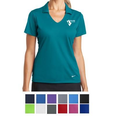 2787148ab 637165 Nike Ladies' Dri-FIT Vertical Mesh Polo - Hit Promotional ...