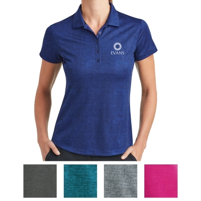 1247b310ad323 838961 Nike Ladies Dri-FIT Crosshatch Polo - Hit Promotional Products