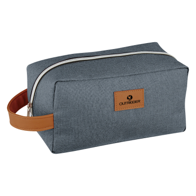 9417 Heathered Toiletry Bag - Hit Promotional Products 480cb51b4cfd7