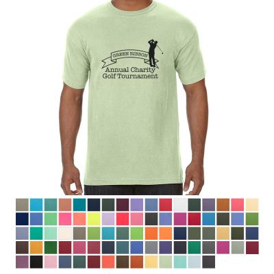 e3c22755 #C1717 Comfort Colors - Garment Dyed Heavyweight Ringspun Short Sleeve Shirt