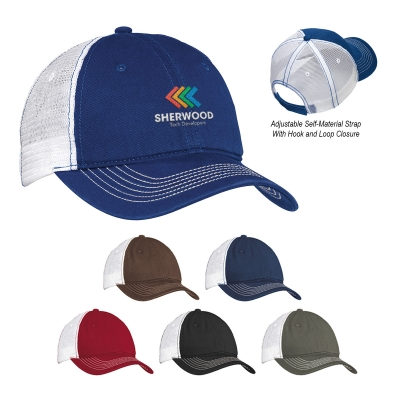 959c7203f0aebf DT607 District® Mesh Back Cap - Hit Promotional Products