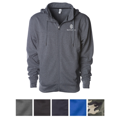 EXP80PTZ Independent Trading Company Men's Poly-Tech Zip
