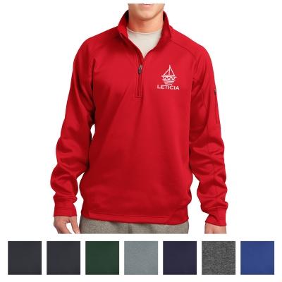 8b7e9c7a2d7 F247 Sport-Tek® Tech Fleece 1 4-Zip Pullover - Hit Promotional Products