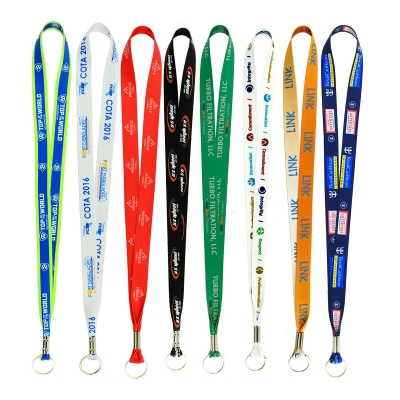 LANYARDS-DS50 Full Color Imprint Smooth Dye Sublimation Lanyard ½