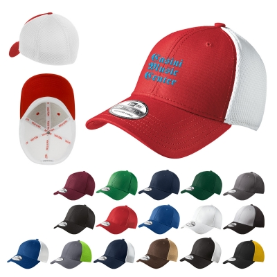 NE1020 New Era® Stretch Mesh Cap - Hit Promotional Products 40d8e7a87be