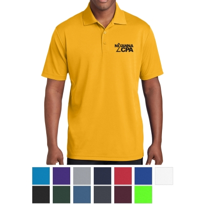 3426b926d ST640 Sport-Tek® Men's PosiCharge® RacerMesh™ Polo - Hit Promotional ...