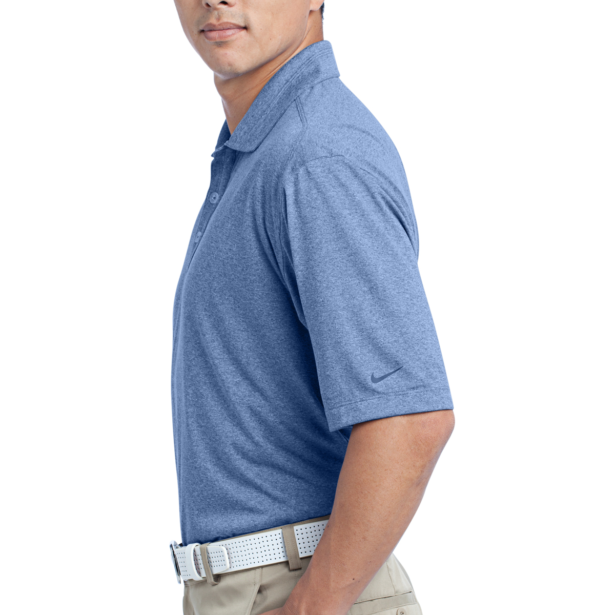 6ca5dcf8 474231 Nike Dri-FIT Heather Polo - Hit Promotional Products