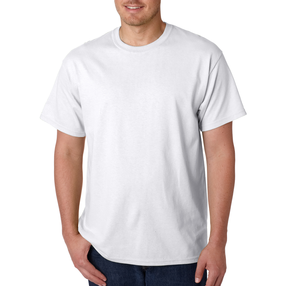 6111bc0d2f20  5000 Gildan® Adult Heavy Cotton™ T-Shirt - Hit Promotional Products
