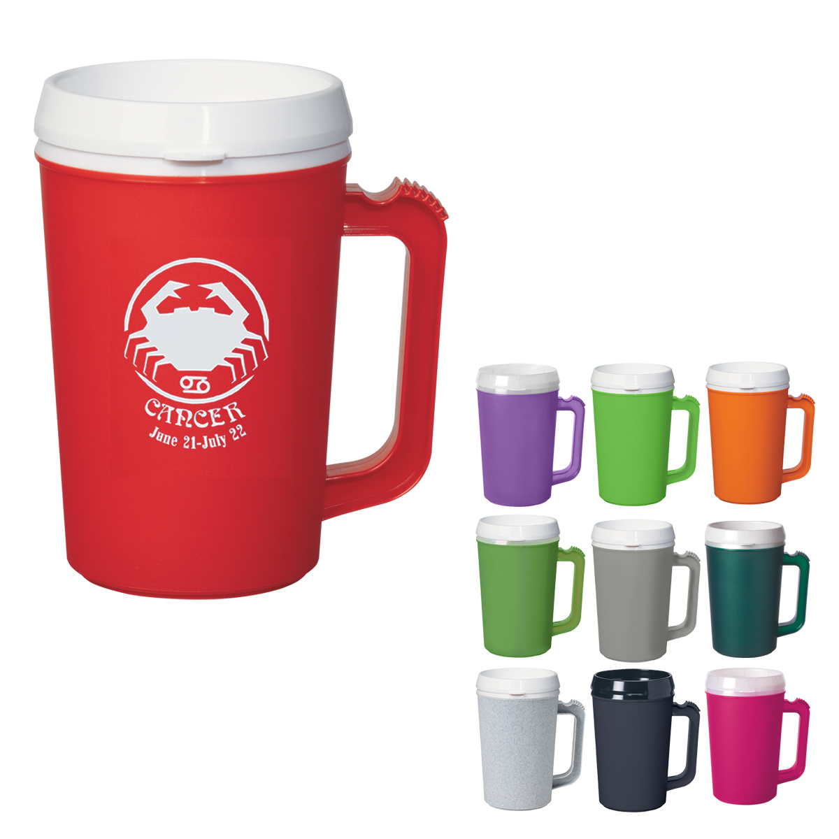 Customized Promotional Travel Mugs with Logo - 4AllPromos