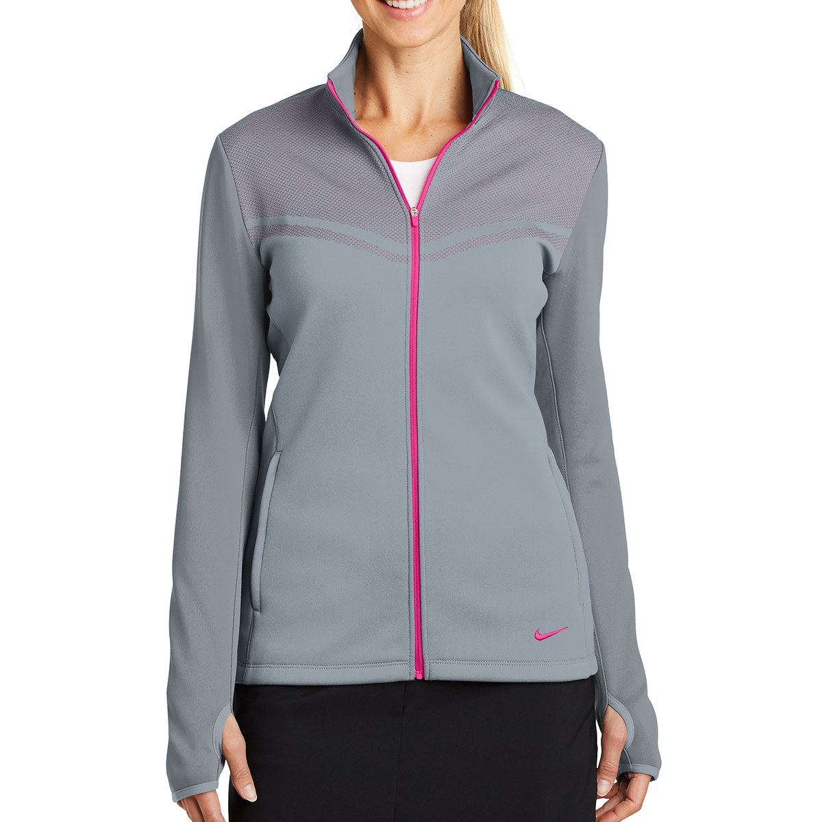 779804 Nike Ladies Therma-FIT Hypervis Full-Zip Jacket - Hit ... 61d955a77