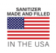*Sanitizer Made And Filled In The USA