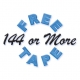 144 Or More Free Tape