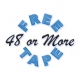 48 or More Free Tape