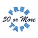 50 or More Free Tape