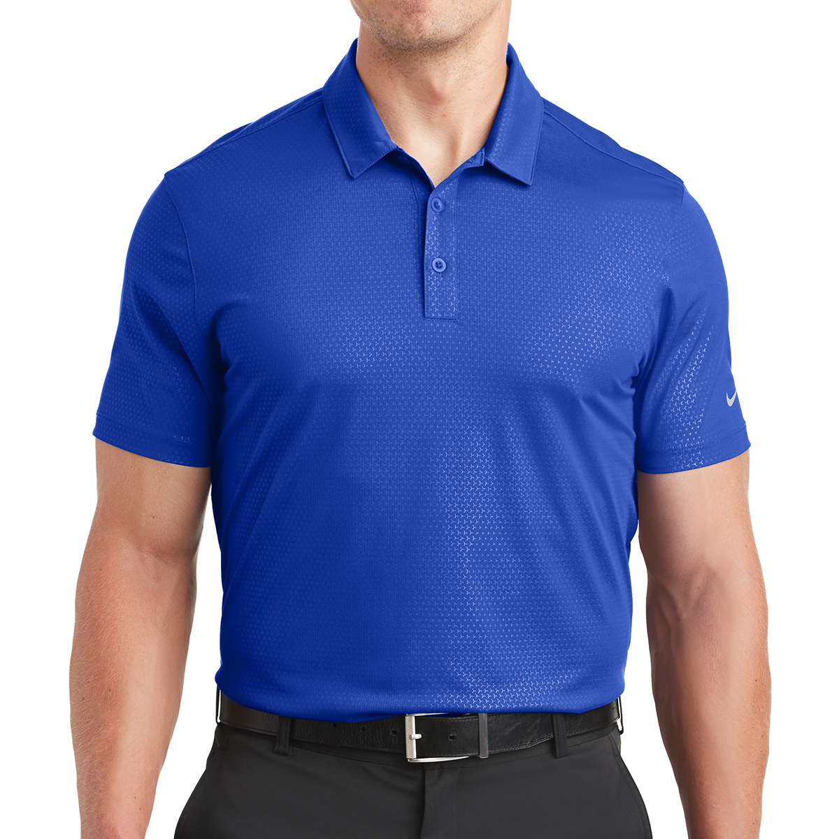 39219599 838964 Nike Dri-FIT Embossed Tri-Blade Polo - Hit Promotional Products