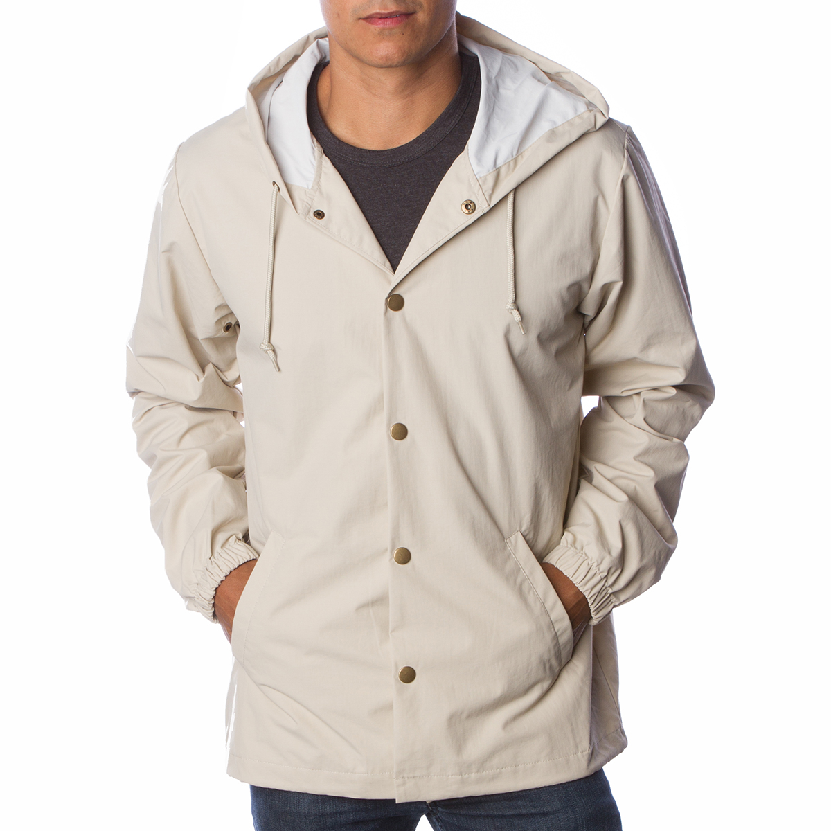 5ee60c8b7 EXP95NB Independent Trading Company Water Resistant Hooded ...