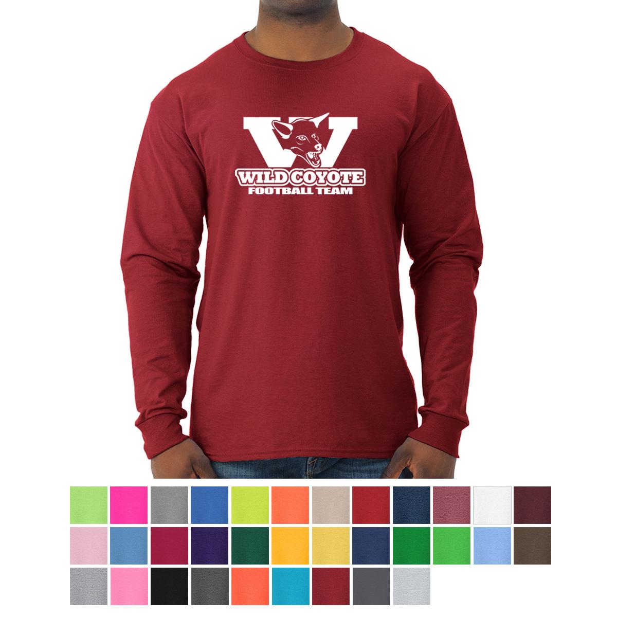 567e8bb7 JERZEES® - Dri-Power® Long Sleeve 50/50 T-Shirt