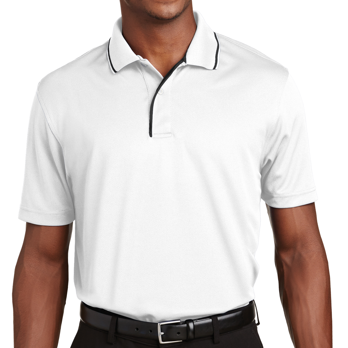 e13eef19b2 K467 Sport-Tek® Dri-Mesh® Polo with Tipped Collar and Piping - Hit ...
