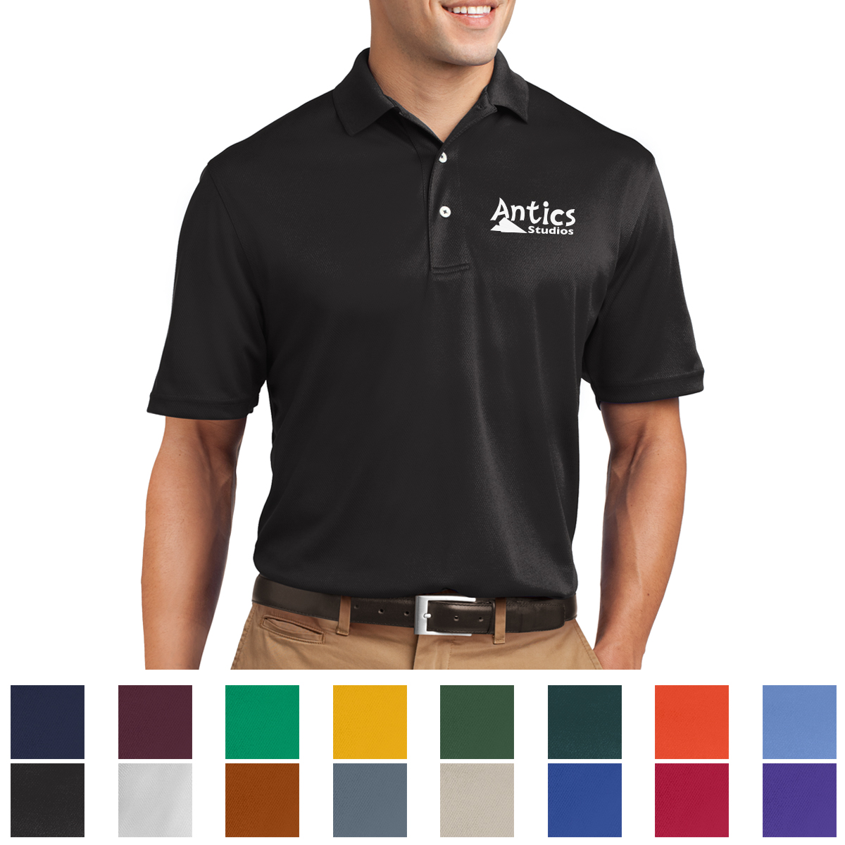 K469 Sport Tek Dri Mesh Polo Hit Promotional Products