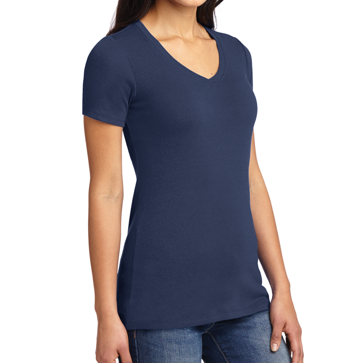 47df3045a92c LM1005 Port Authority® Ladies' Concept Stretch V-Neck Tee - Hit ...