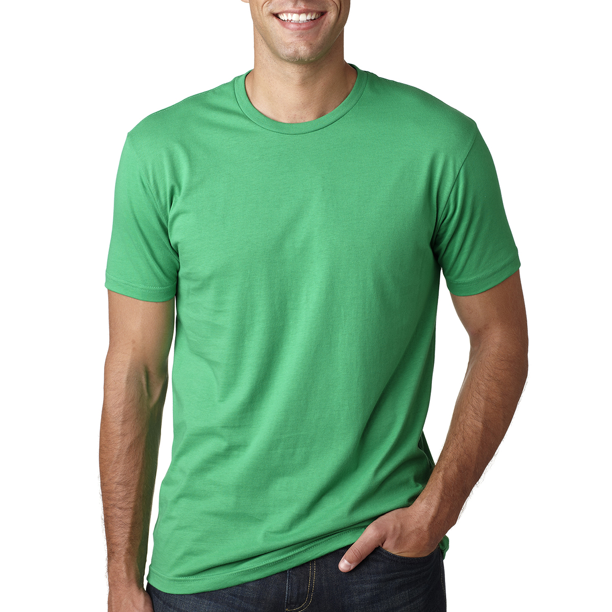 5b35709e N3600 Next Level™ Premium Fitted Short-Sleeve Crew - Hit Promotional ...
