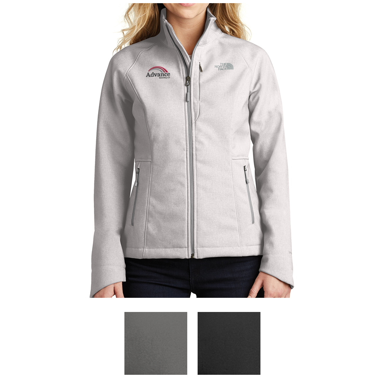 04dc66d79ab NF0A3LGU The North Face® Ladies  Apex Barrier Soft Shell Jacket ...